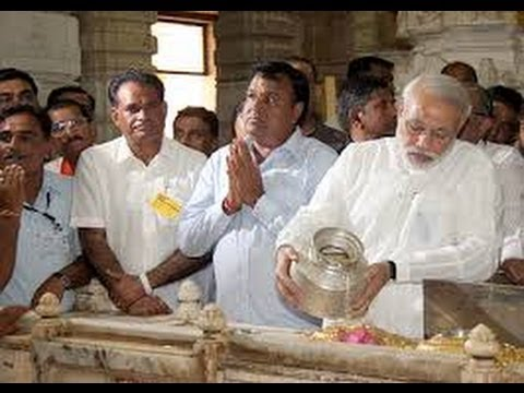 Live: Narendra Modi at the Shivaarpan of Somnath Temple's