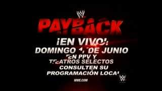 WWE Payback 2014 Junio 01, 2014 Chicago, Illinois