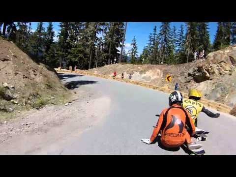 Whistler Longboard 2013 Raw Race Heats - WIPPERMANN