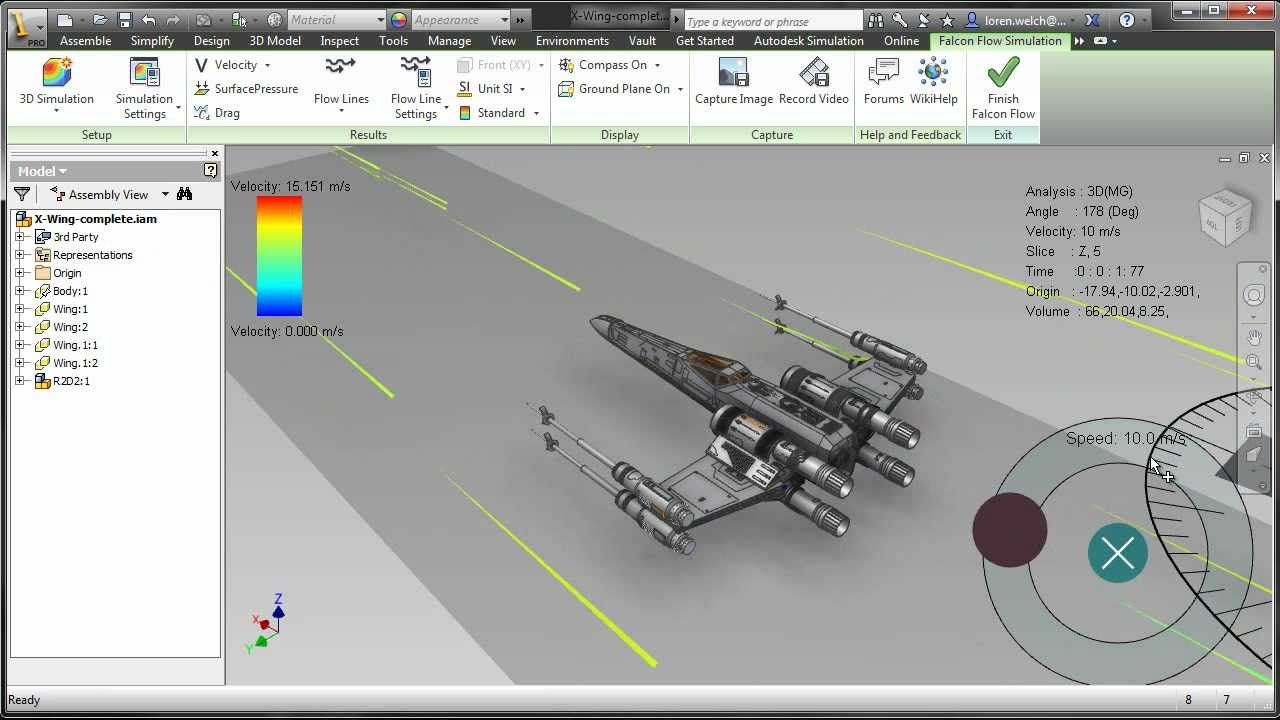 Autodesk project falcon for inventor 2013 youtube