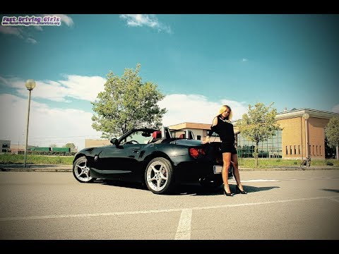 Fast Driving Girls Bonnie Bmw Z4 2 5i V015 Youtube