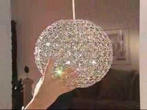 Dishwasher safe crystal chandelier youtube for Build your own chandelier