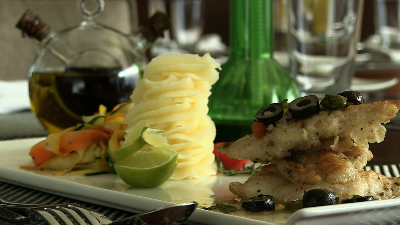 Indian Restaurant Special - Pan Fried John Dory At Apicius With Mini ...