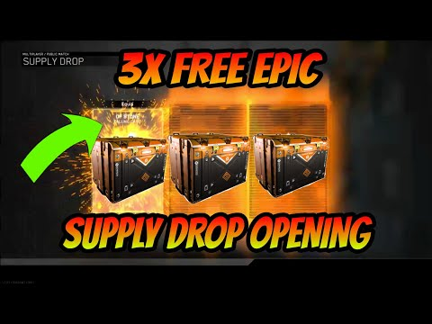 *NEW* INFINITY WARD GIVES OUT 3 FREE EPIC SUPPLY DROP GIFT! XBOX PARTY UP ISSUE!