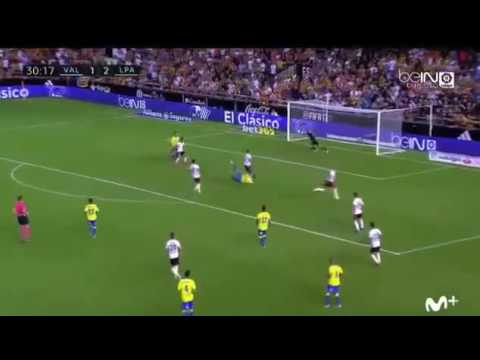 VIDEO: Watch Kevin Boateng's magnificent header for Las Palmas against Valencia