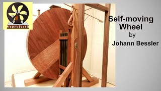 Famous Johann Bessler' Overbalanced Wheel.  Perpetual Motion Machine