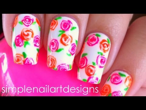 Corset In Drag Black Hot Neon Pink Needle Nail Art Design Tutorial