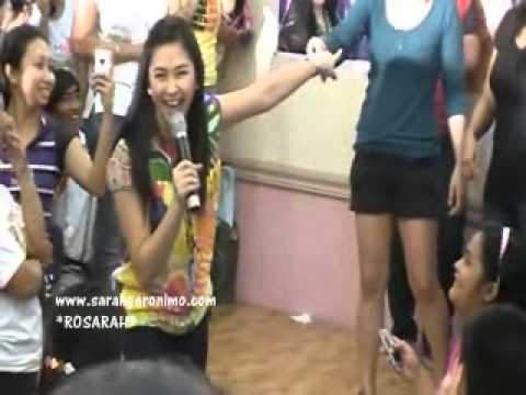 Hulaan Portion Part 4 - Popsters Christmas Party 2010 with Sarah G.