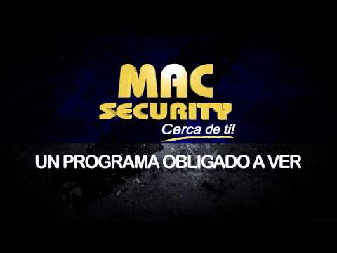 Promo Mac Security - Invitado especial Cap. Marcos Heredia