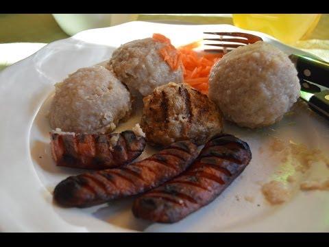 West Norwegian Poato Ball komple or Raspeball