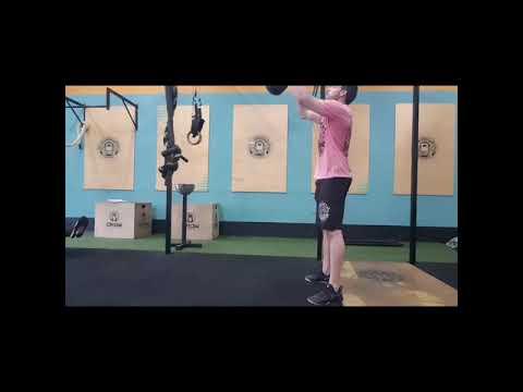 Flip Kettlebell Swing 28 to 40kg - Crossfit Dádiva