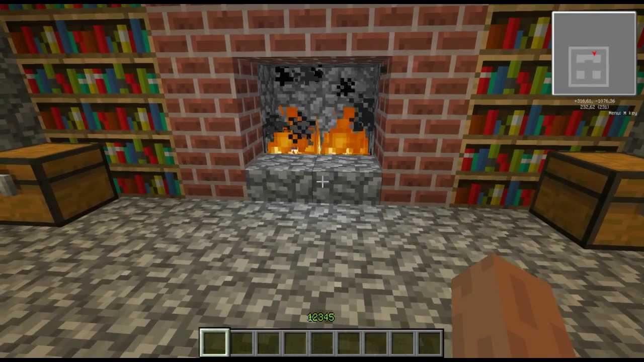 Minecraft как сделать потайную дверь фото 244