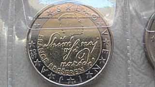 MONETE COMMEMORATIVE DA 2 EURO. 1 11 2012.
