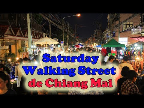 saturday walking street de chiang mai