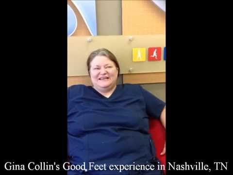 Good Feet Nashville Customer Finds Instant Pain Relief
