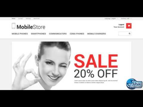Download Mobile Store Responsive PrestaShop Theme by  Hermes TM