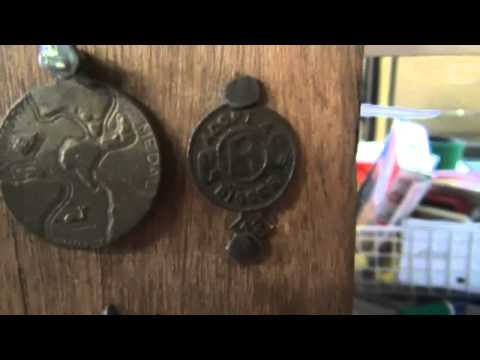 My Antique Bottle Collection, Old Relic, Australiana and Metal Detecting Display Pt 2