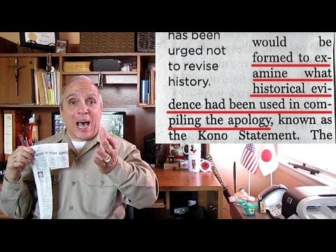 Comfort Women apology review