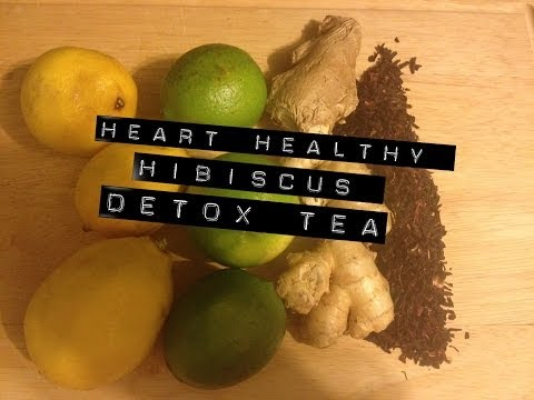 Heart Healthy Hibiscus Detox Tea