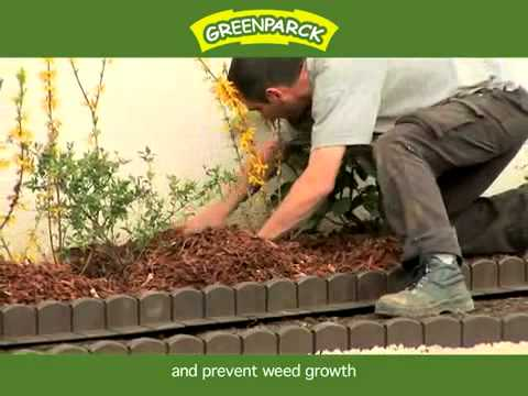 bordure plastique de jardin clipsable greenparck youtube