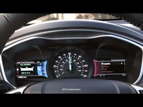 2014 Ford Fusion Power