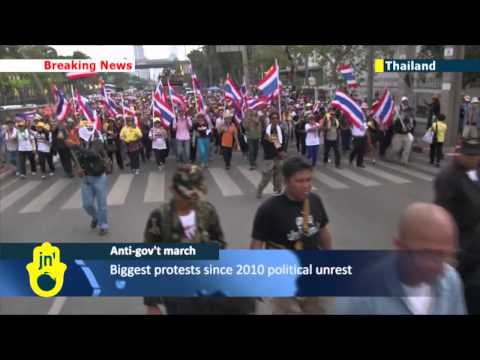 Protests Rock Bangkok: Demonstrators in Thai capital occupy government buildings