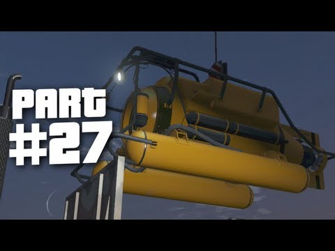 Grand Theft Auto 5 Gameplay Walkthrough Part 27 - Minisub (GTA 5)