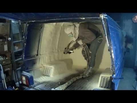 Как отремонтировать изотермический фургон своими руками