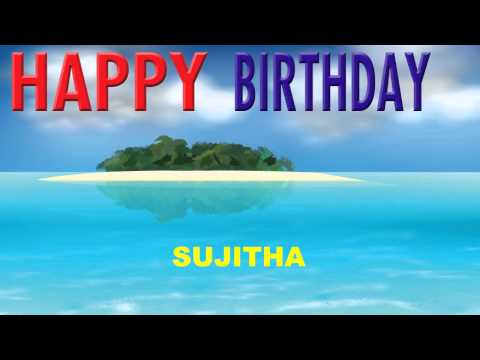 Sujitha - Card Tarjeta_276 - Happy Birthday