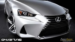 New Lexus IS Sedan, Jaguar F-Pace SVR, VW Golf R 400 Cancelled, Acura CDX - Fast Lane Daily