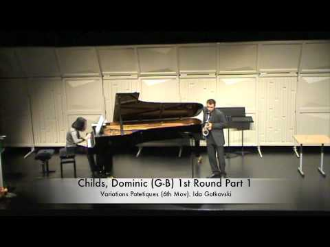 Childs, Dominic (G-B) 1st Round Part 1