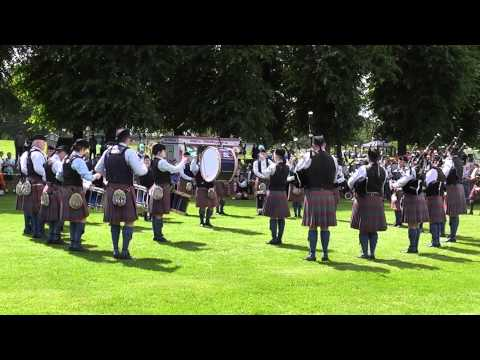 Bleary and District Pipe Band Lurgan 2014