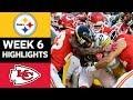 Steelers vs Chiefs NFL Week 6 Game Highlights