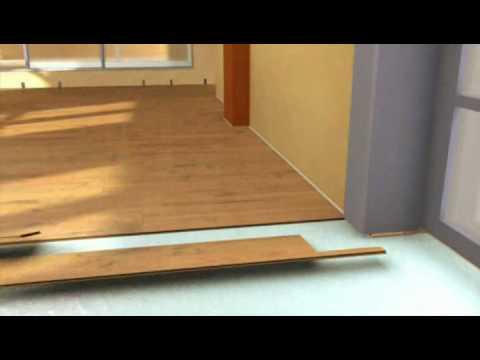 Krono flooring - montaż paneli