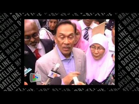 Anwar gives police statement on sex video