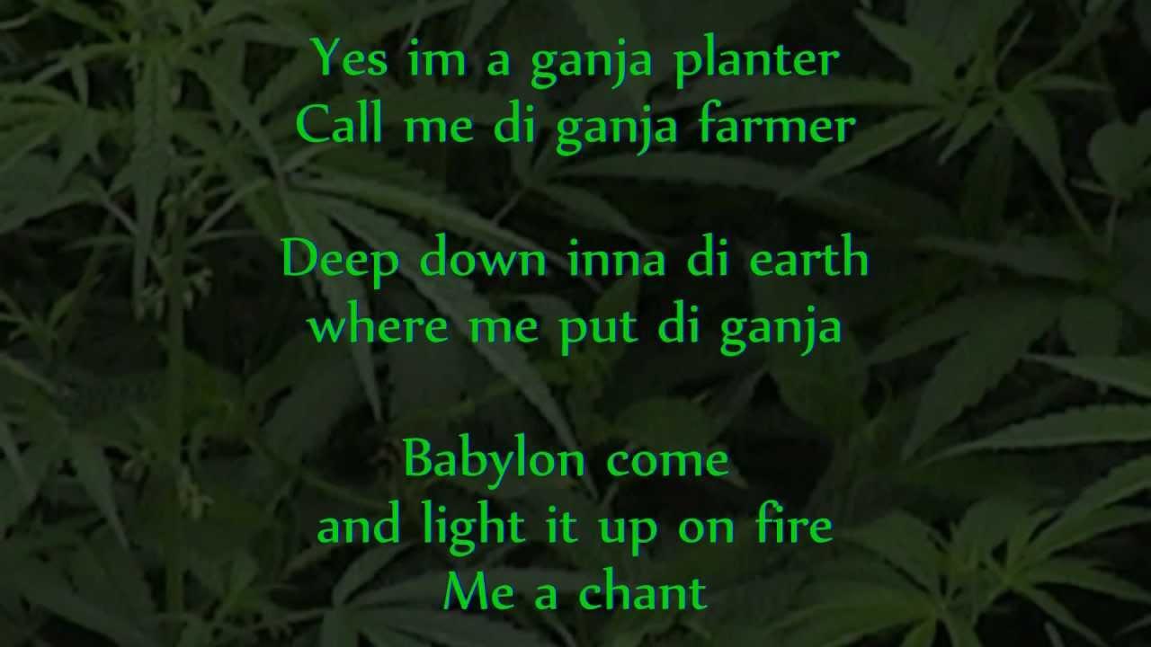 Marlon Asher - Ganja Farmer (Ganja Farmer Riddim) lyrics ...