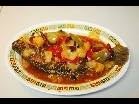 Fried Whole Fish in Spicy Sweet and Sour Sauce: Authentic ...