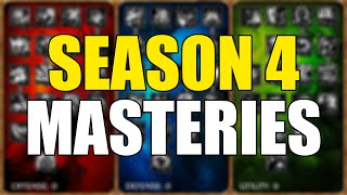 ♥ Season 4 Masteries League Of Legends Basic Guide