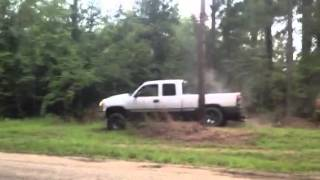 Jacked Up Z71 Chevy Duremax Vs Ford 4x4 Sport