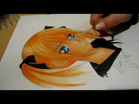 drawing || Rima (Vampire Knight) ||, with: Copic ciao Marker