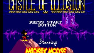 Master System Longplay [010] Castle Of Illusion Starring