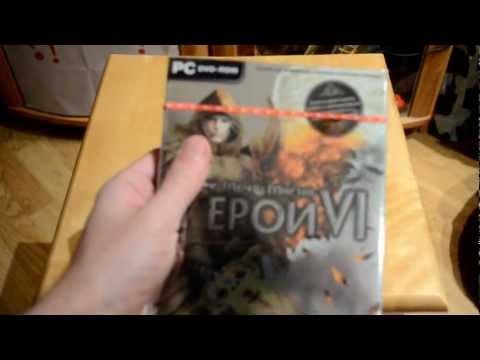 Скромная мини-распакуйка DVD-box`a игры