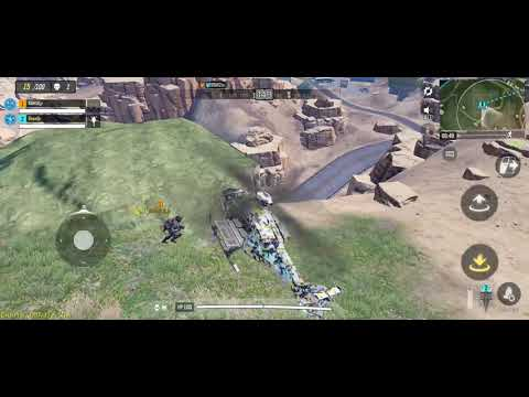 Call of duty mobile ## chasing a helicopter with a helicopter and some funny moments ##
