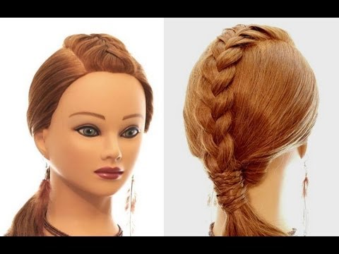 Easy hairstyle for every day. Braided hairstyles for long hair ...
