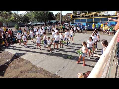 Coreografia da Copa 2014 - Gincana Fera Equipe Verde