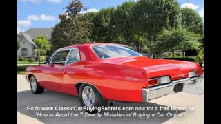1967 Chevy Biscayne 4 Speed Classic Muscle Car For Sale In