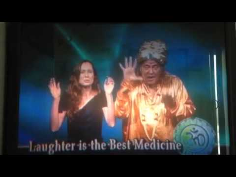Laughing yoga medicine clip with Yogi Ramesh