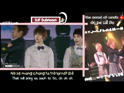 [FANCAM] 111119 SUPERJUNIOR SS4 in Seoul - Sound of Music (Do Re Mi Fa) [Vietsub + Engsub]
