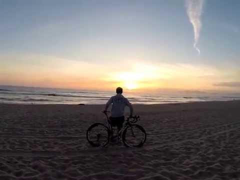 Matteo Trentin e l'avventura californiana