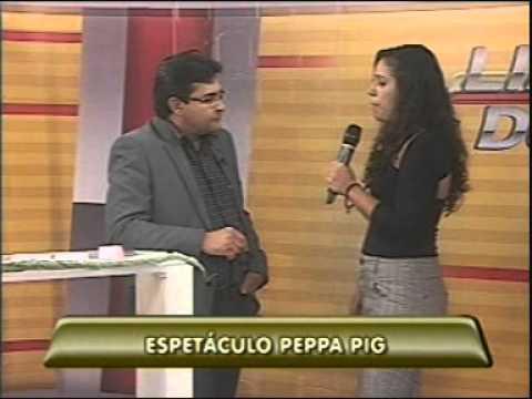 Promotora de eventos fala sobre o Espetáculo Peppa Pig no Linha Dura